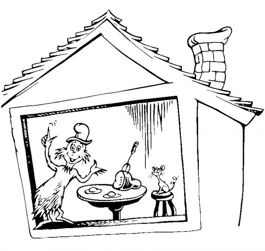Green Eggs And Ham Coloring Pages Az Coloring Pages Green Eggs And Ham Coloring Pages
