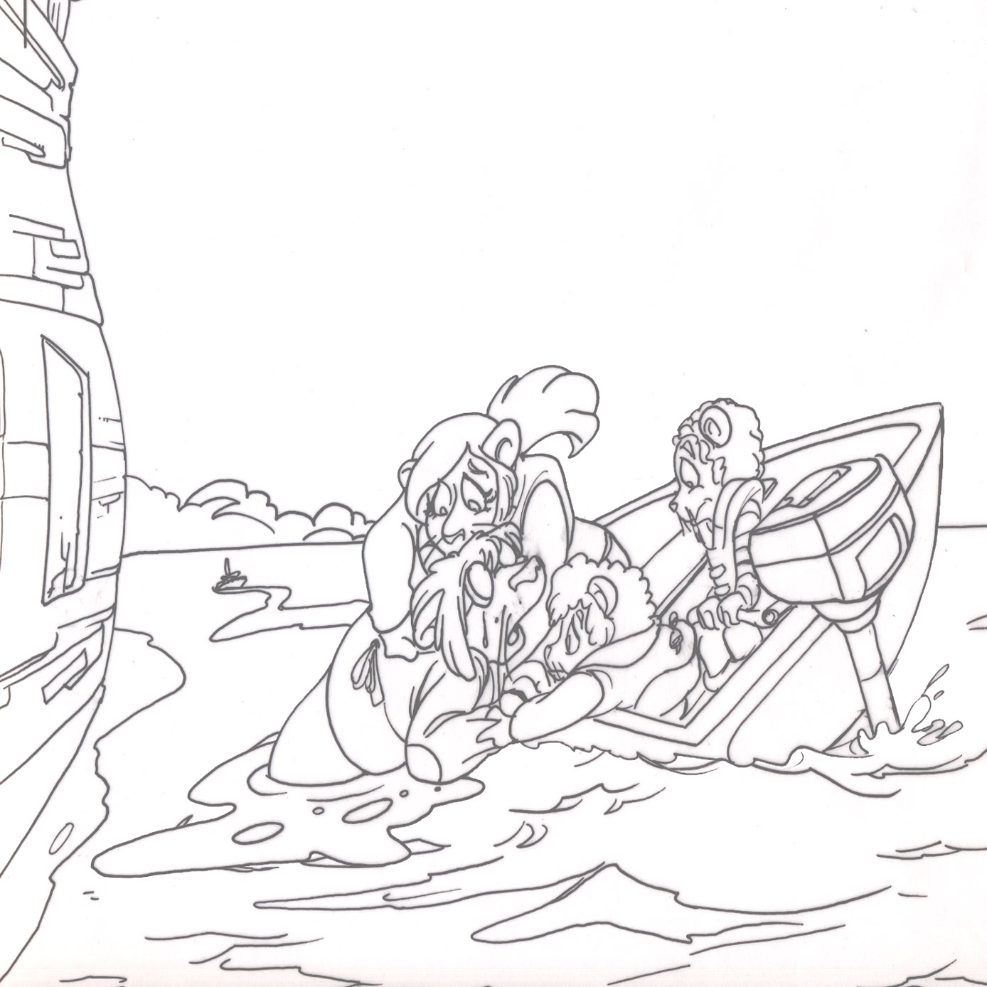 danger rangers coloring pages - photo#15