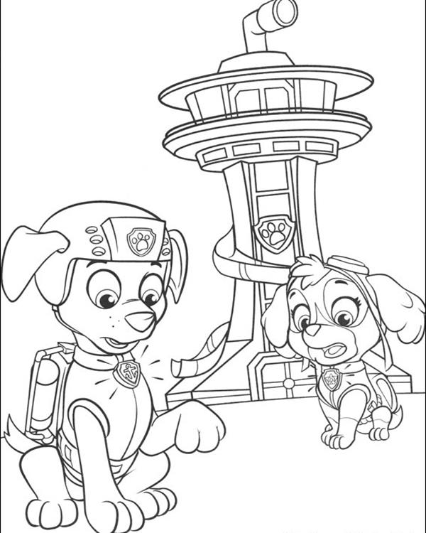 Zum Coloring Pages