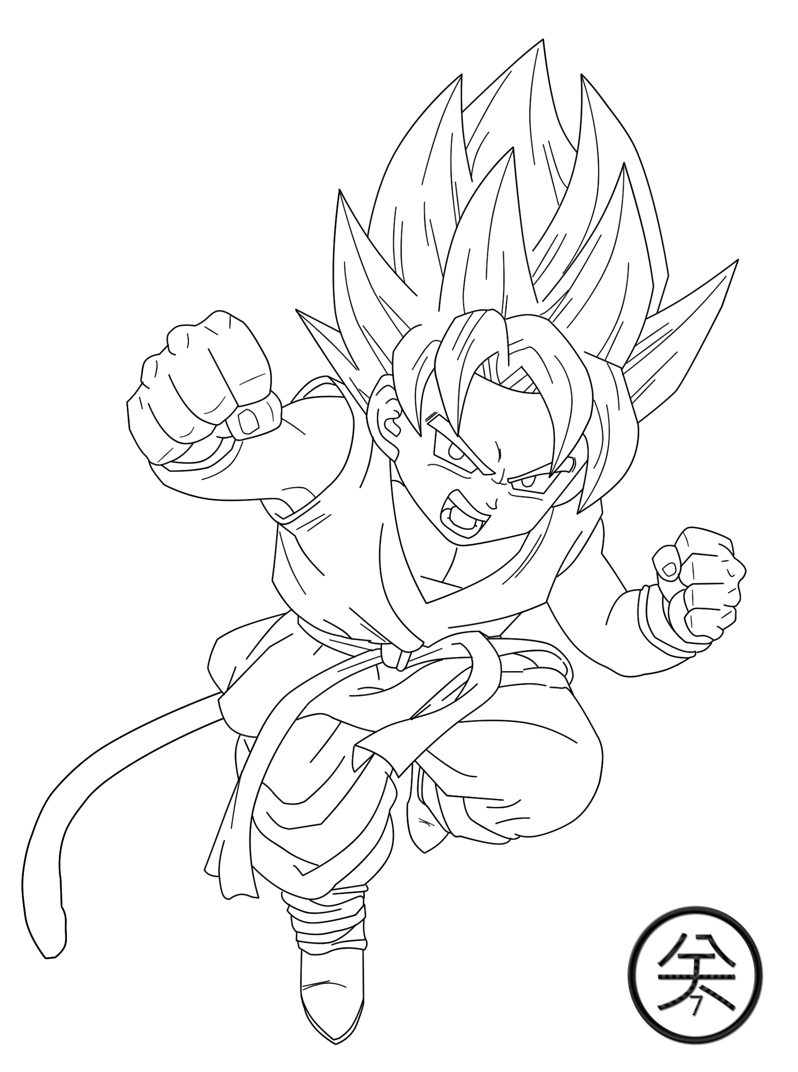 Dragonball Gt Coloring Pages 183 | Free Printable Coloring Pages - Coloring  Home | 2147x1599
