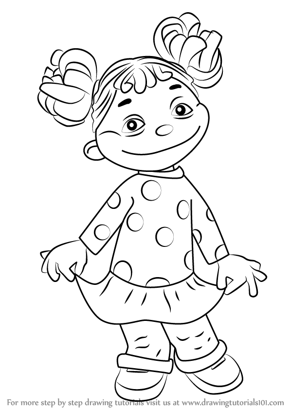 Gabriela Sid The Science Kid Coloring Page Coloring Home