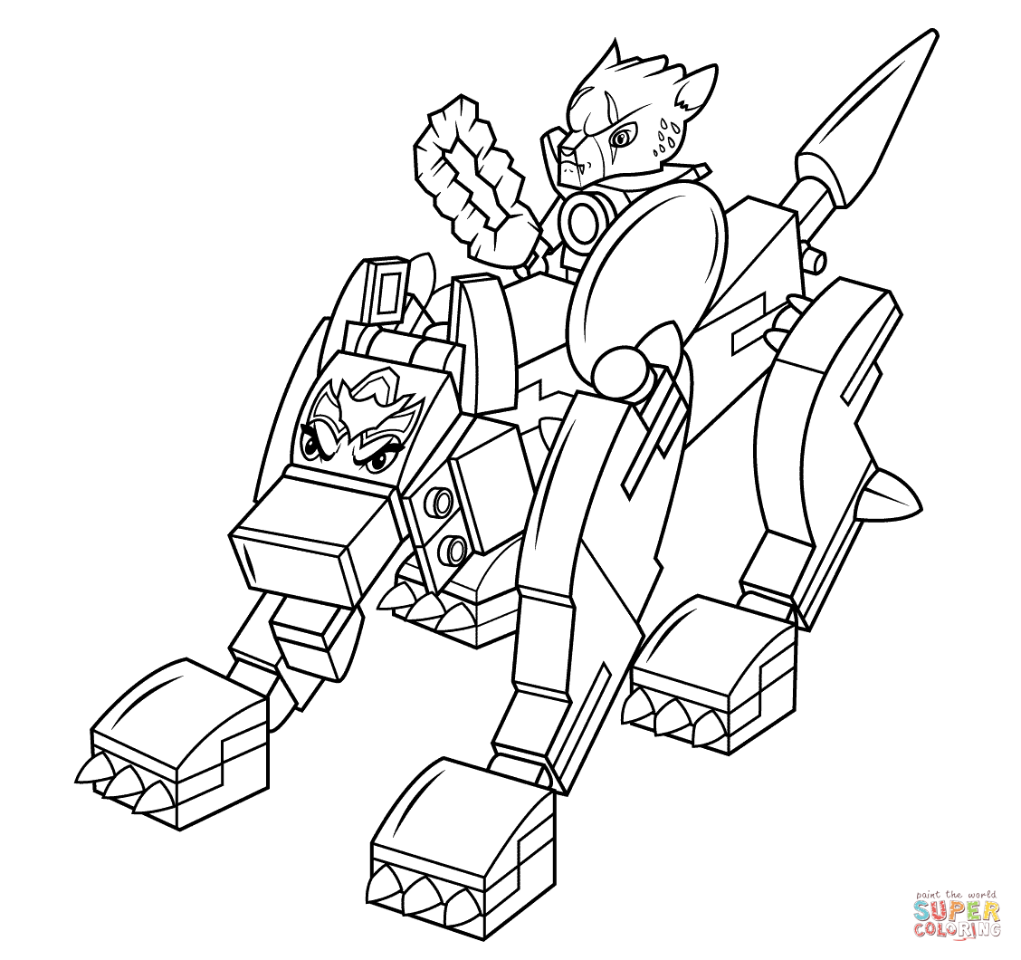 Lego Chima Coloring Pages Coloring Home