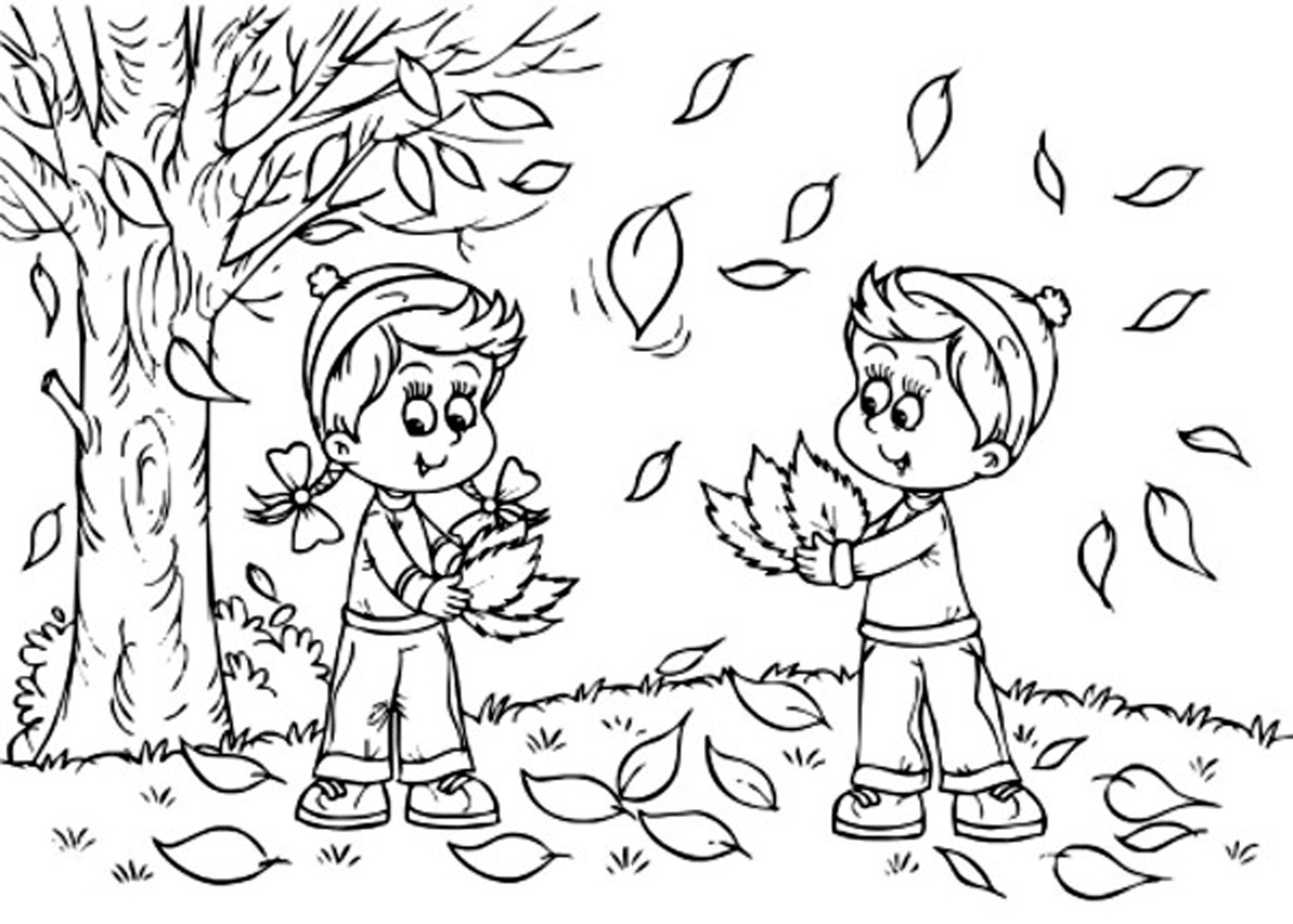 free printable coloring pages fall season - fall coloring pages printable free coloring home