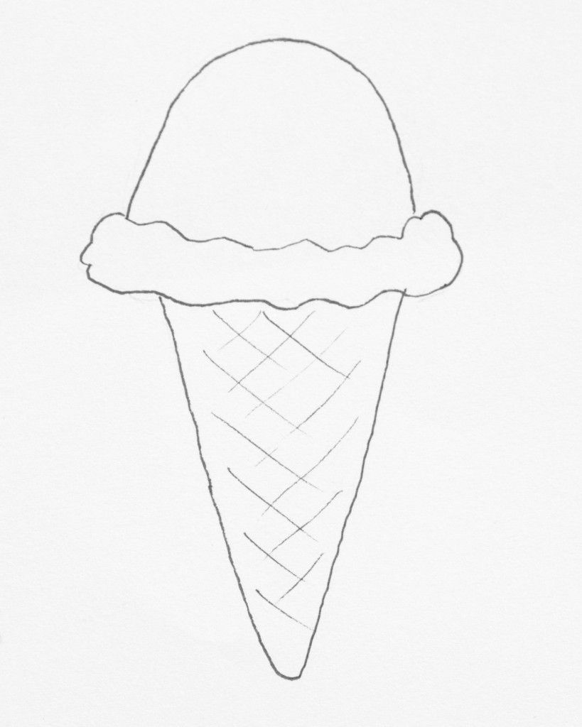 Coloring pictures of ice cream cones - Freebie Friday Ice Cream Coloring Pages