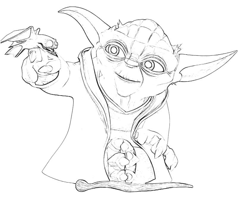Yoda printable coloring pages az coloring pages for Yoda coloring pages