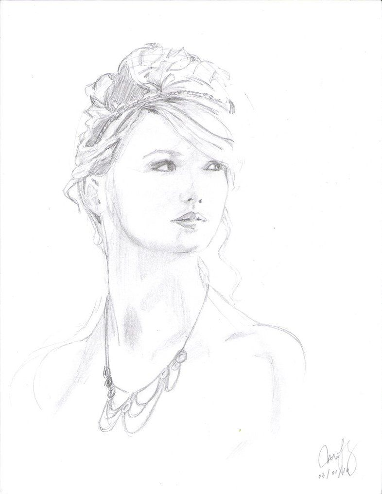 Taylor Swift Free Printable Coloring