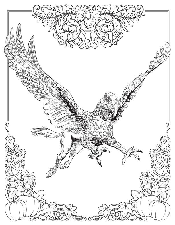 harry potter movie coloring pages - photo#36