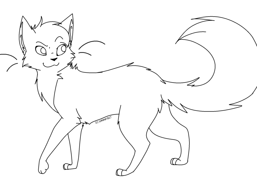 Warrior Cats Clan Coloring Pages - High Quality Coloring Pages