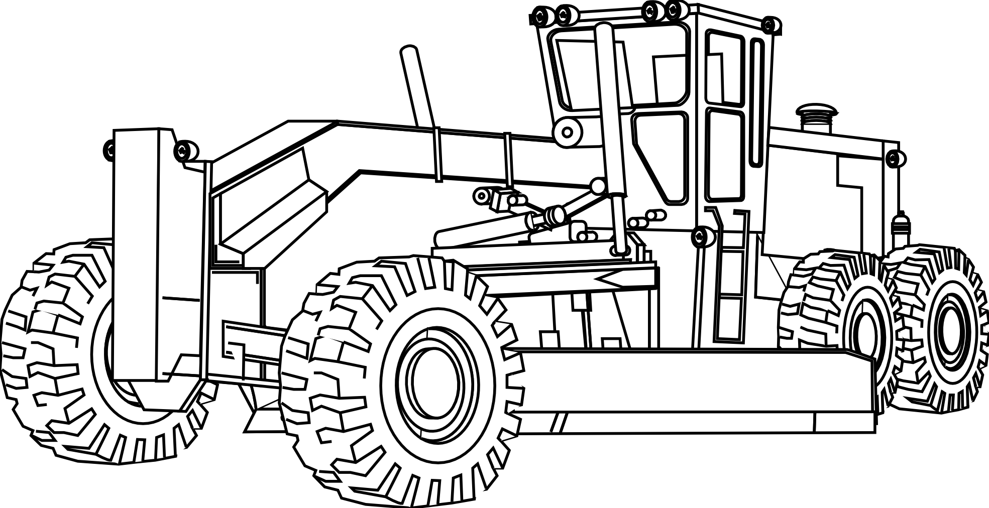 Mighty Machines Coloring Pages - Coloring Home