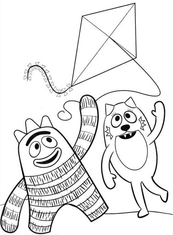 dj coloring pages | Yo Gabba Gabba Dj Lance Coloring Pages - Coloring Home