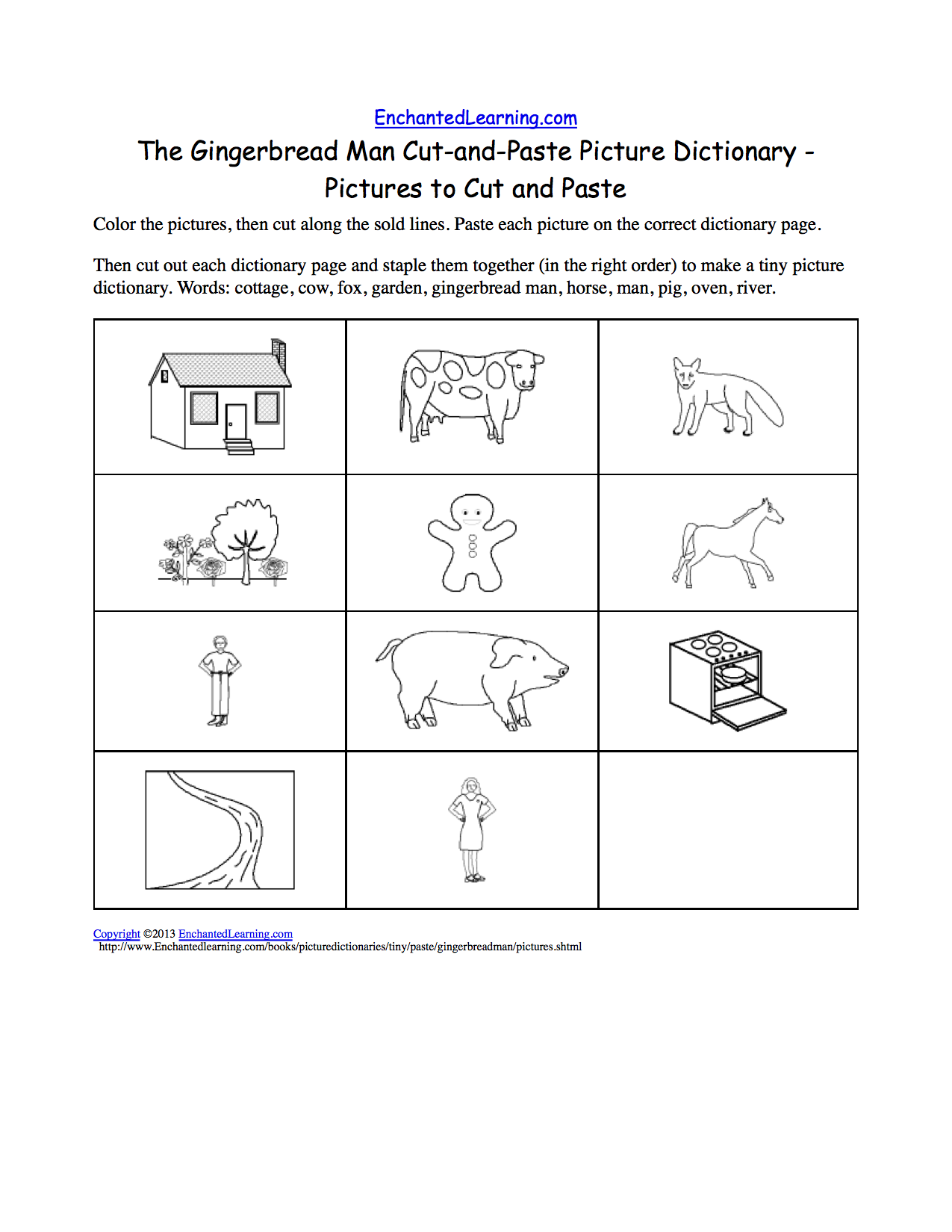 Coloring Pages Of Gingerbread Man Story AZ Coloring Pages
