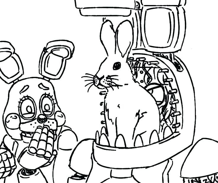 Fnaf Coloring Pages Printable at GetDrawings.com | Free for ...