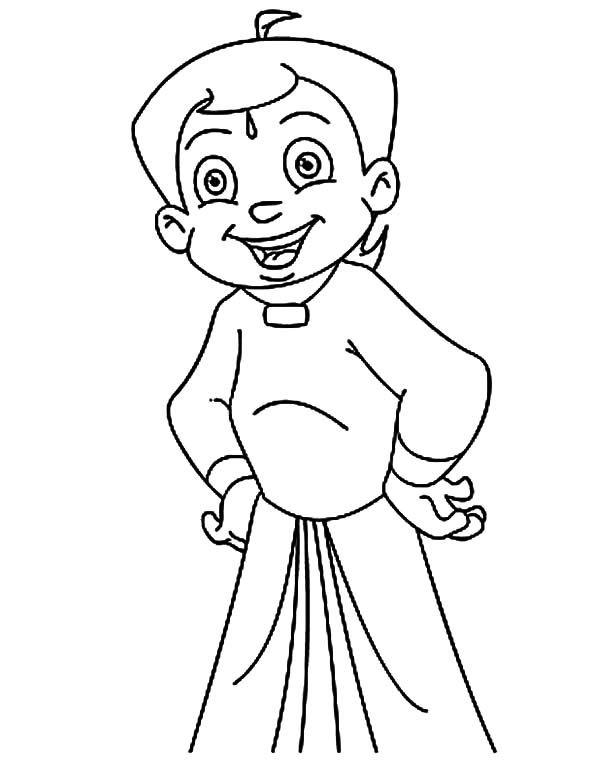 Online Coloring Chota Bheem : Chota bheem images coloring home