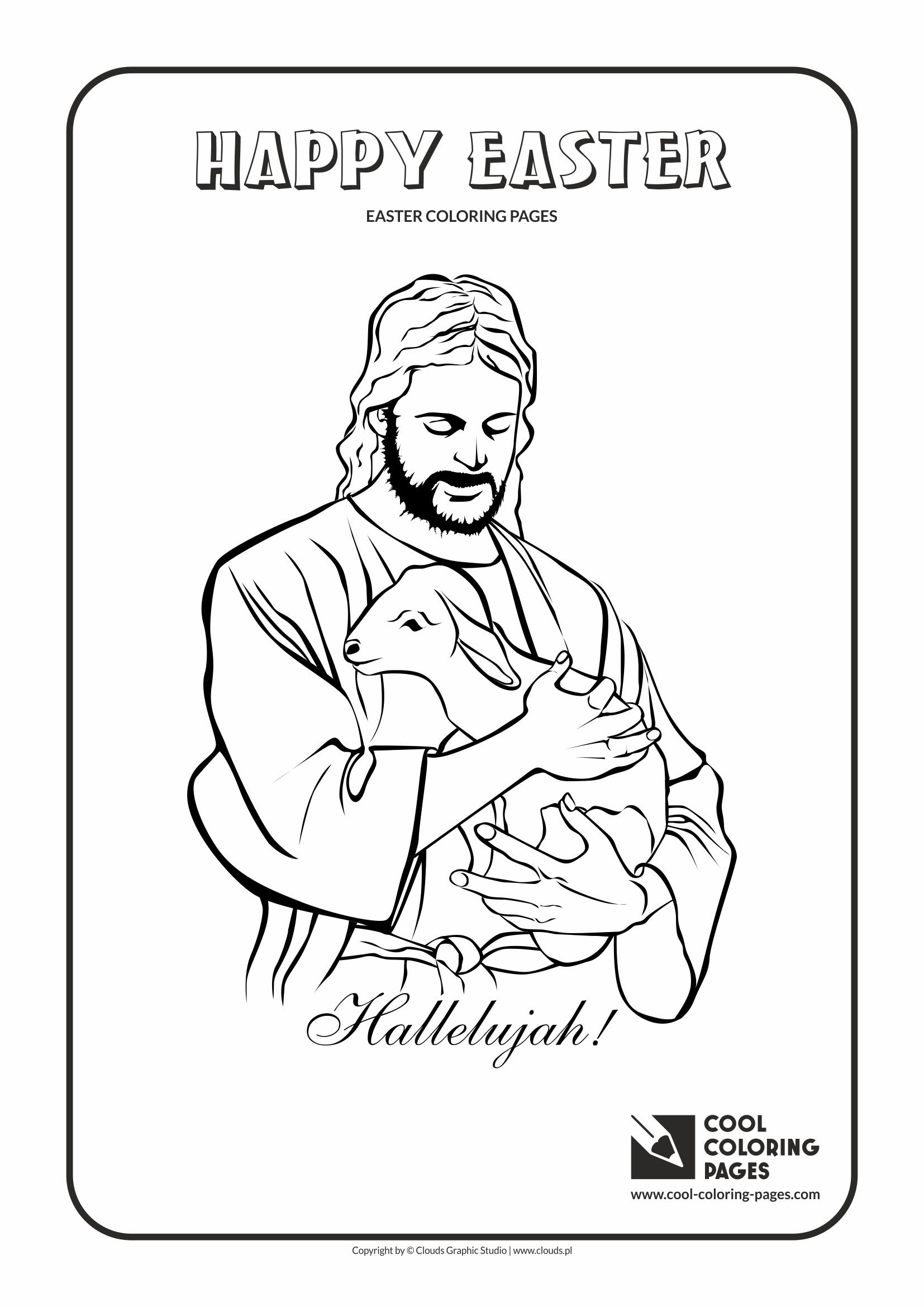 Lambs Coloring Pages - Coloring Home