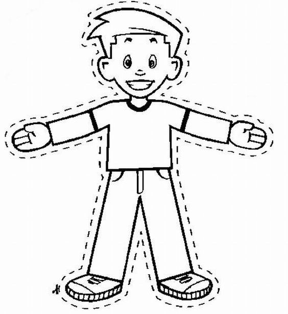 Flat Stanley Coloring Page Coloring Home – Flat Stanley Template