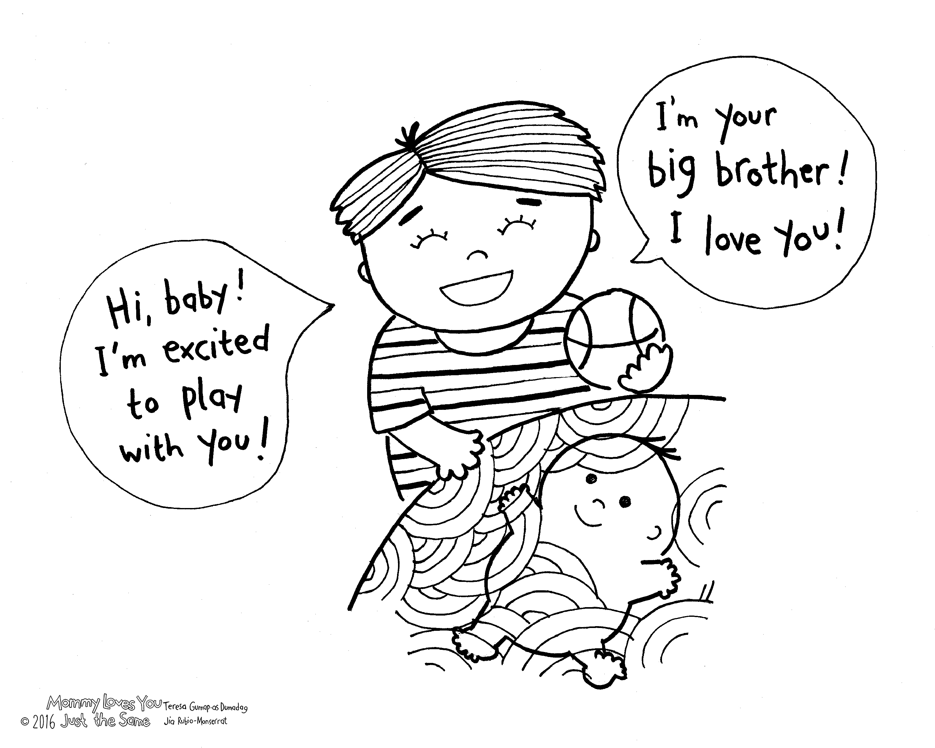 Mommy Loves You Just The Same Free Printable Coloring Pages Coloring Home