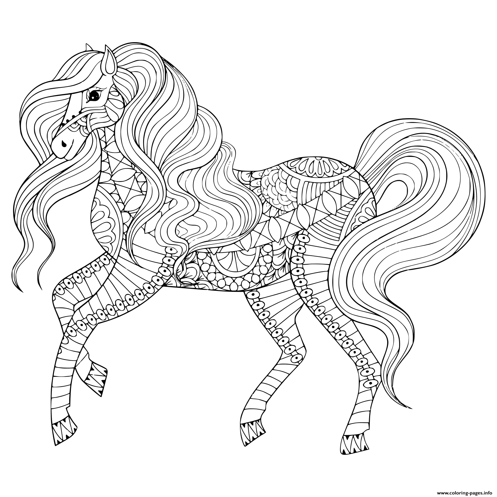Adult Animals Coloring Pages - Coloring Home