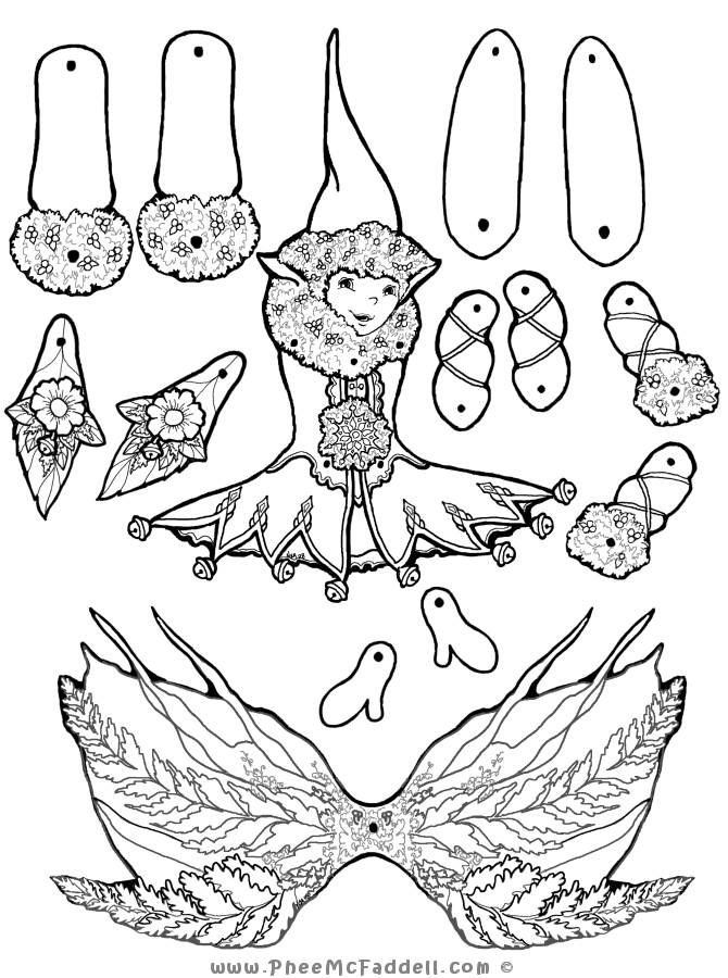 Puppet Coloring Page Coloring Home Puppet Coloring Pages