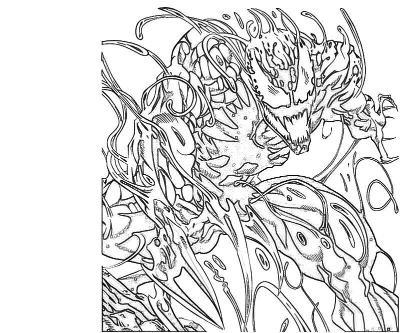 Carnage Coloring Pages Coloring
