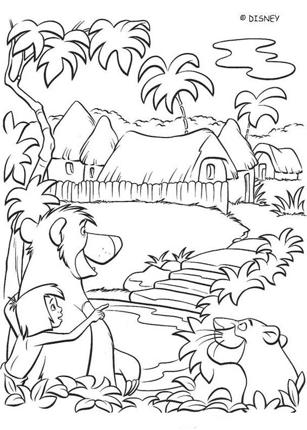 THE JUNGLE BOOK 2 Disney Movie Coloring Books