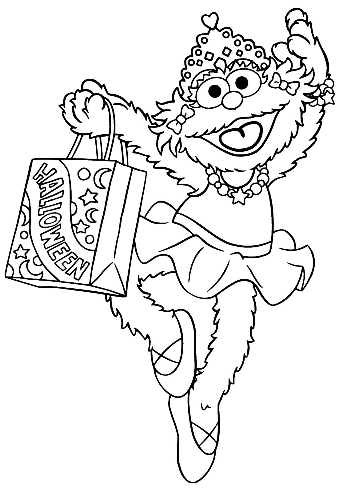 Printable Sesame Street Coloring Pages | Coloring Me