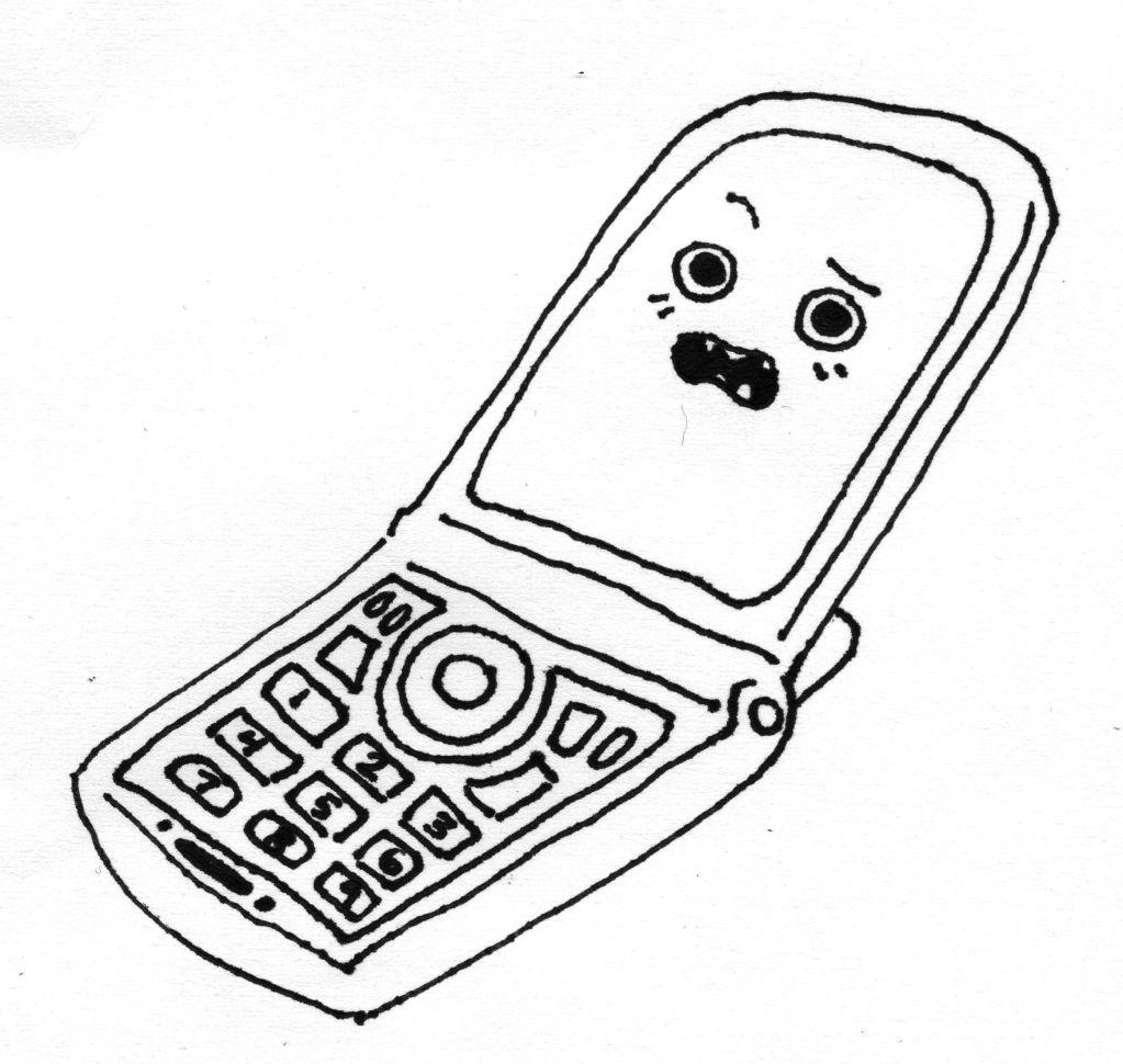 Coloring pages phone ~ Phone Coloring Pages - Coloring Home