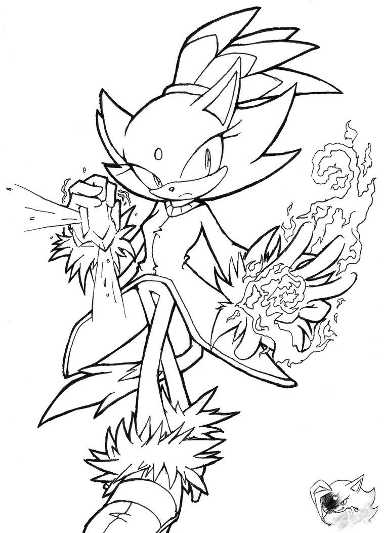 14 Pics of Blaze The Cat Coloring Pages - Sonic Blaze The Cat ...