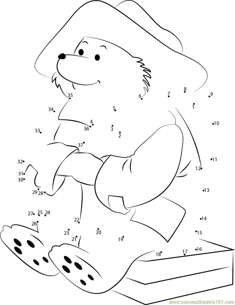 Paddington Bear Coloring Pages Coloring Home