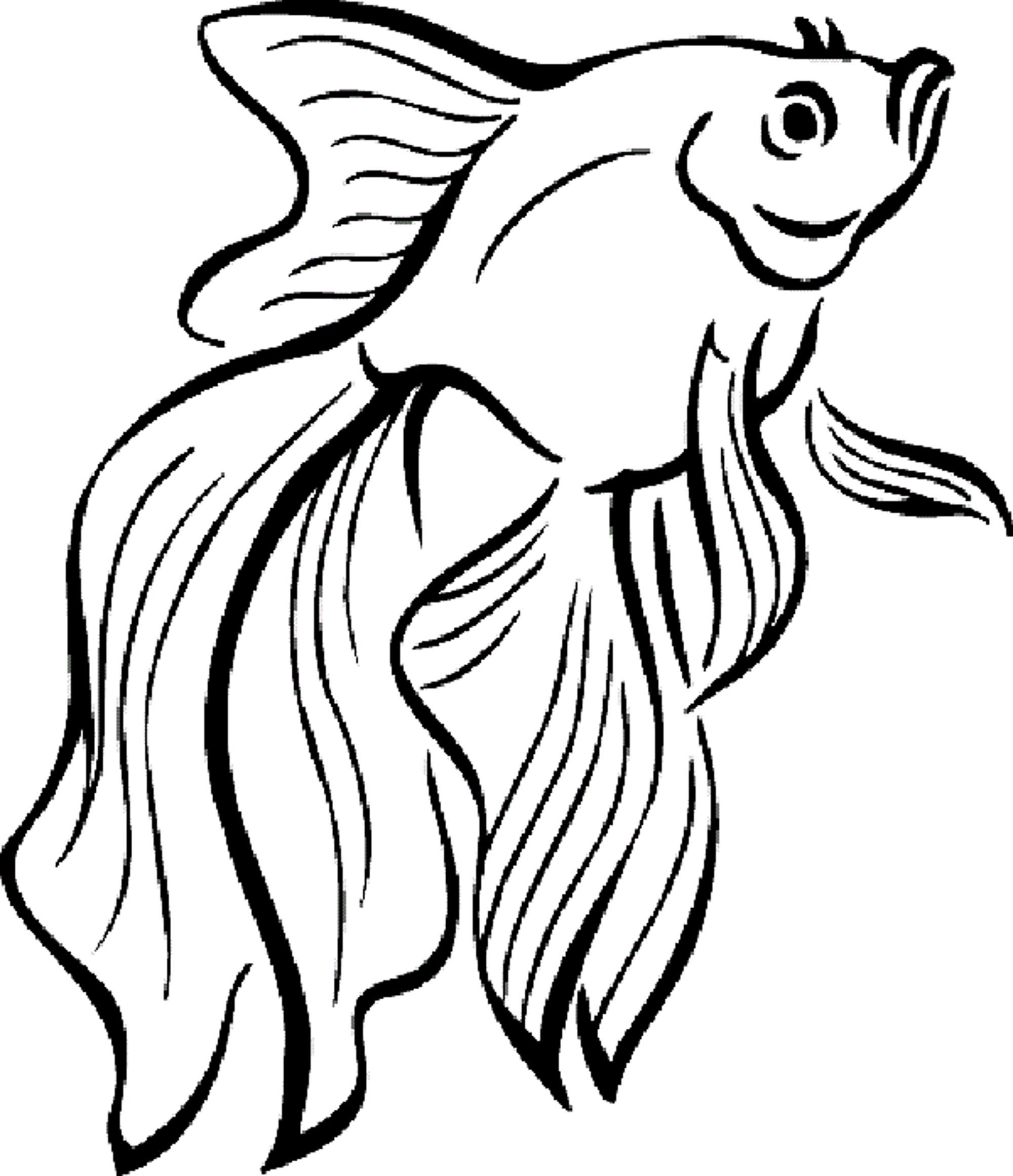 free coloring pages of fish - photo#30