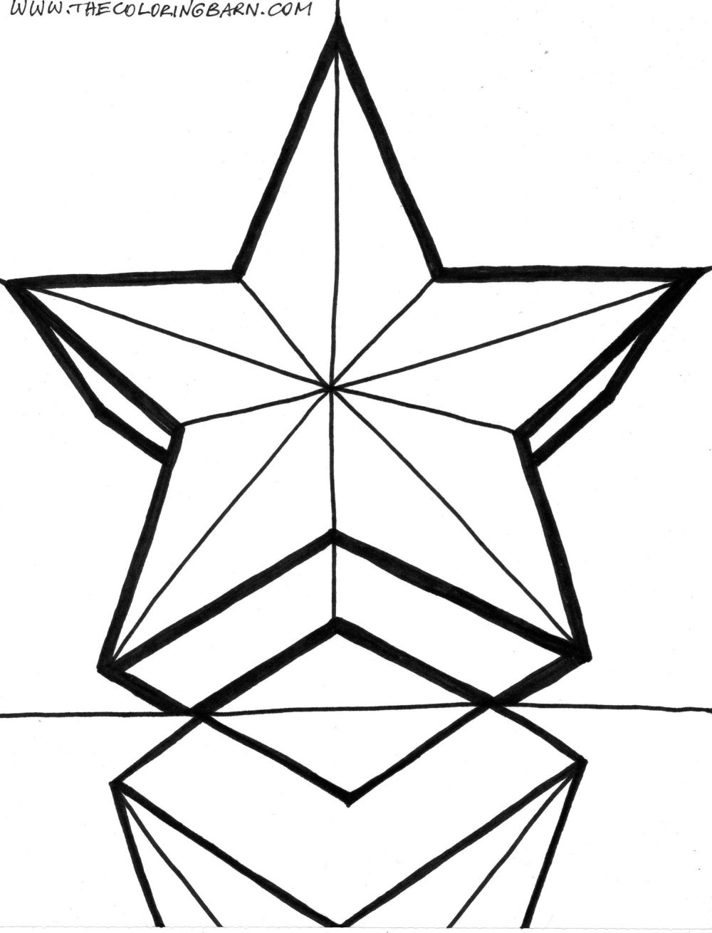 star coloring page coloring home