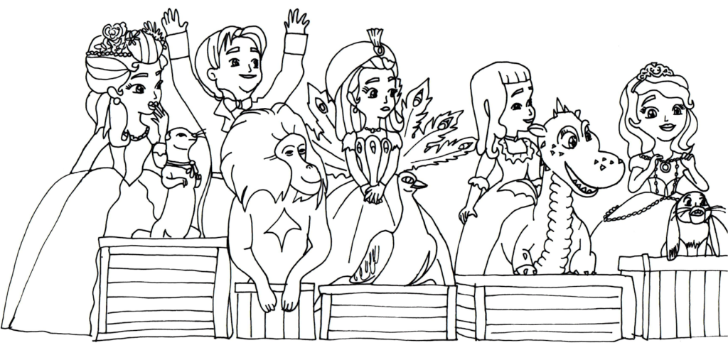 - Coloring Pages: Sofia The First Coloring Pages Sofia The First -  Coloring Home