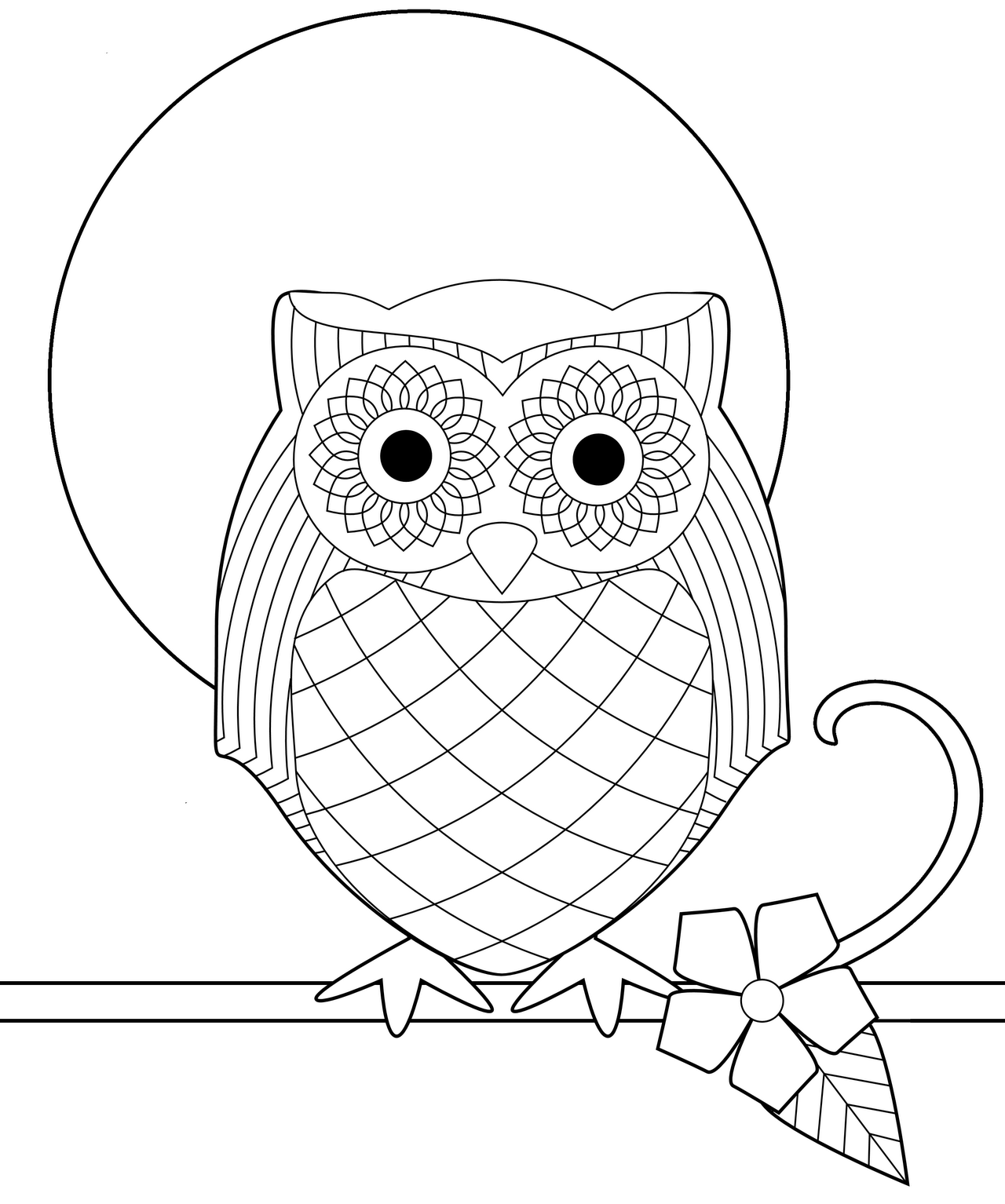 Coloring Pages Printable Coloring Pages Of Owls cute owl coloring pages az free printable page pages