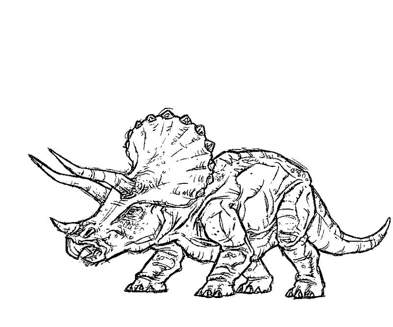 10 Pics Of Jurassic Park Builder Coloring Pages