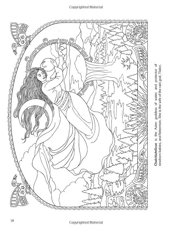 Printable Wiccan Coloring Pages - Coloring Home