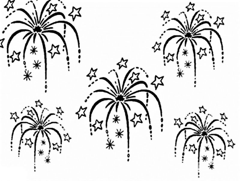 Fireworks Coloring Pages 18 Pictures Colorinenet 21319