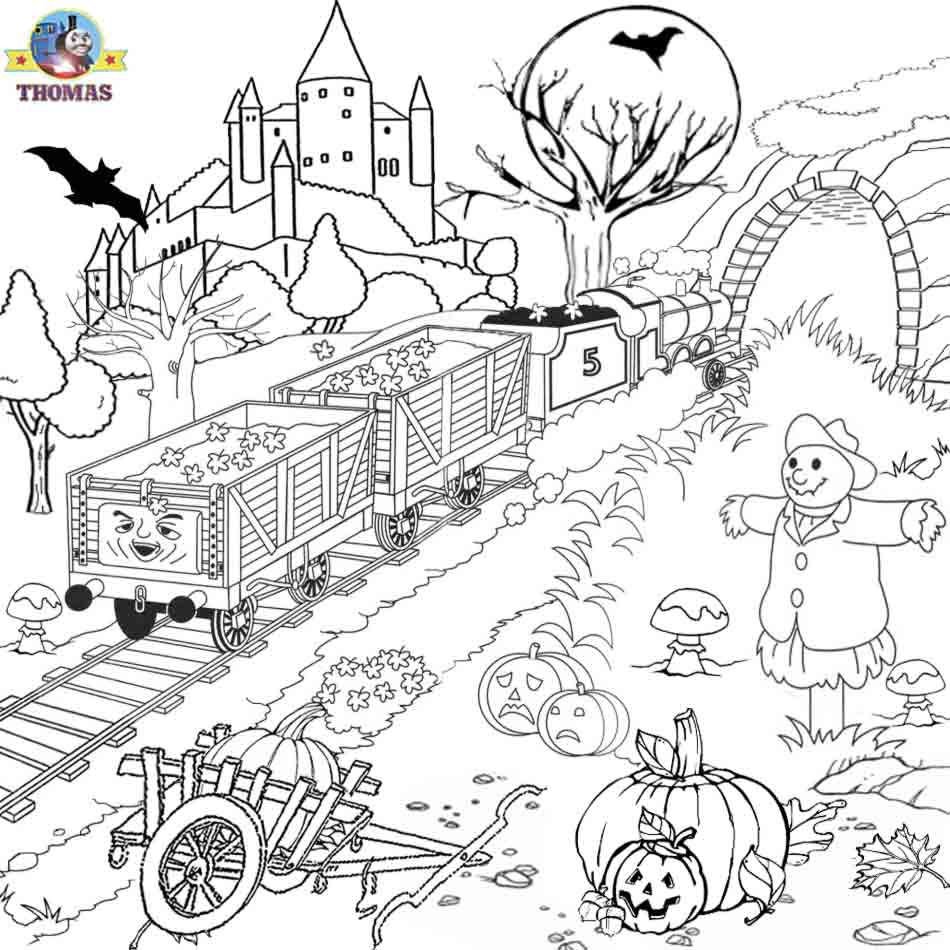 Cute Halloween Coloring Pages Printable View And Print