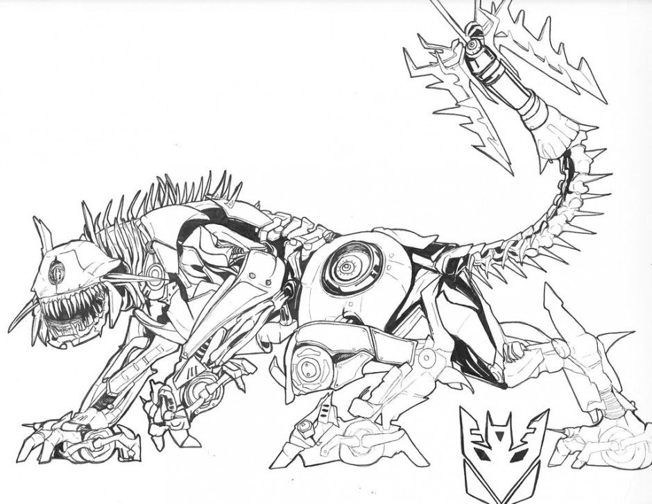 Transformers Age Of Extinction Coloring Pages