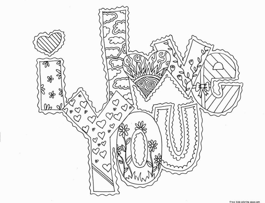 i love you boyfriend coloring pages home sketch coloring page Difficult Coloring Pages for Teens  Coloring Pages For My Boyfriend