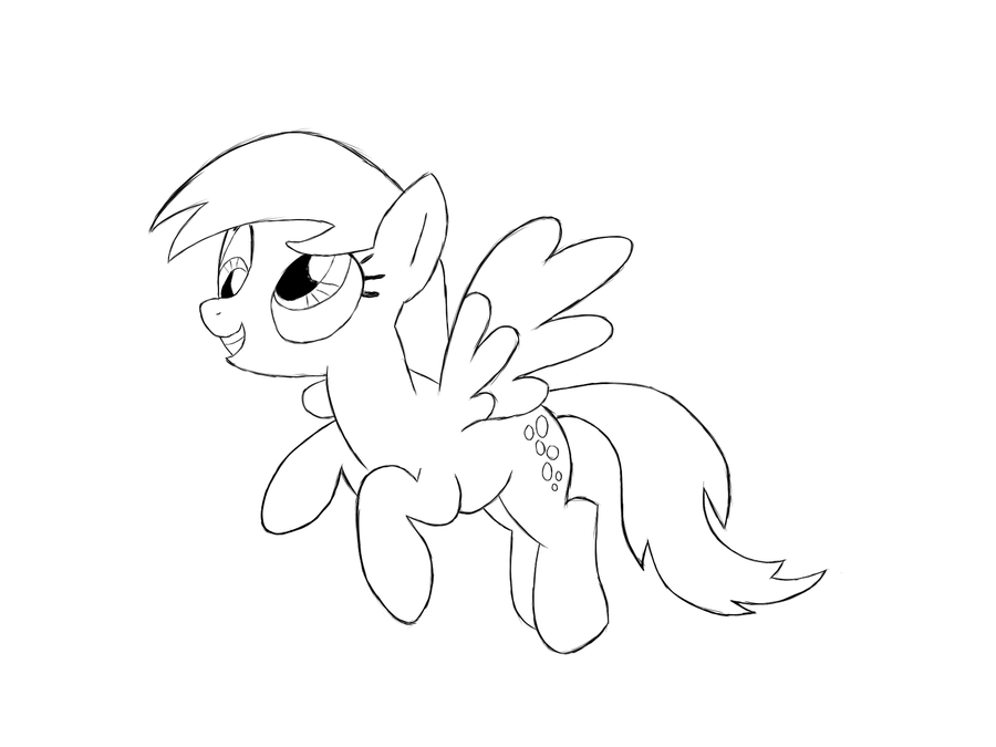 My Little Pony Derpy Hooves Coloring Pages : Derpy coloring pages home