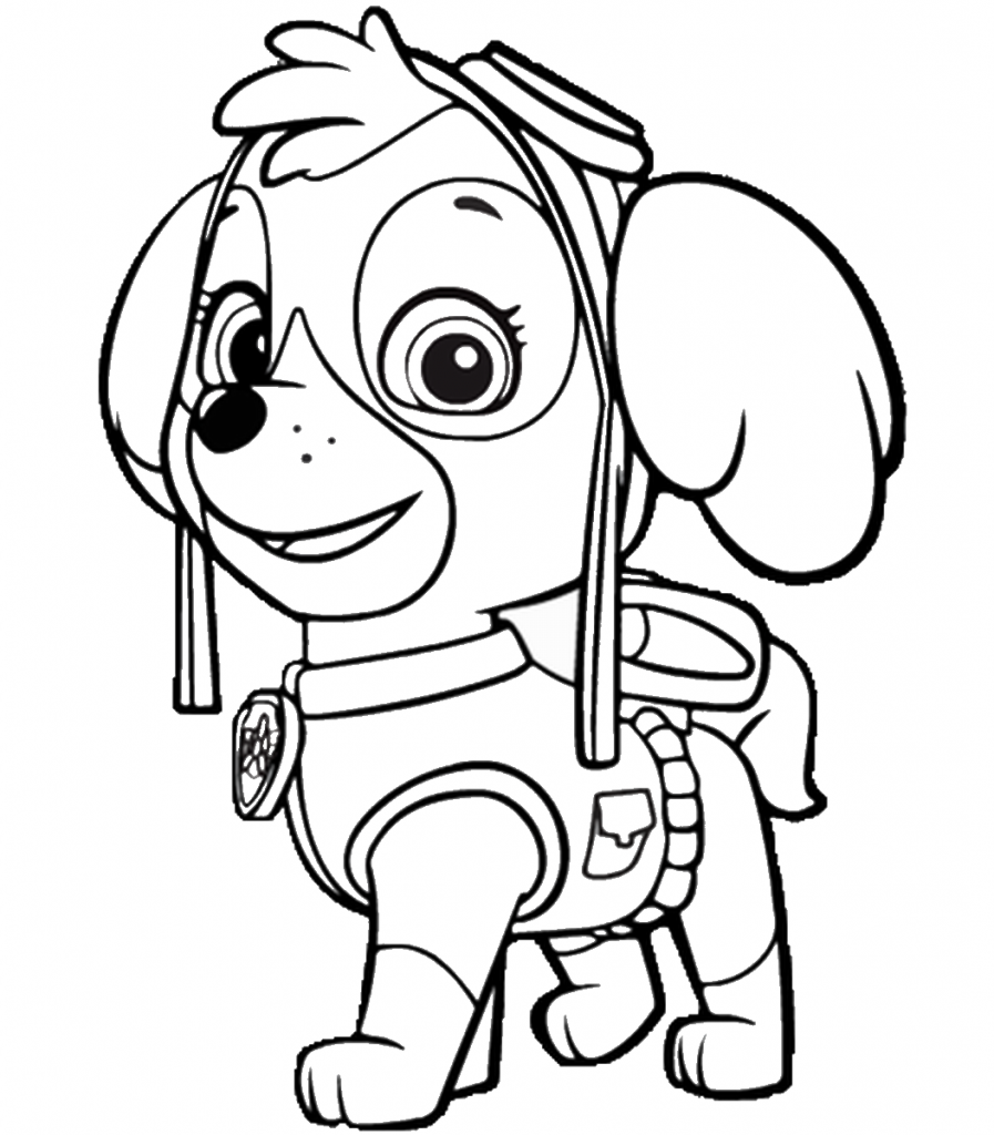 paw-patrol Coloring Pages