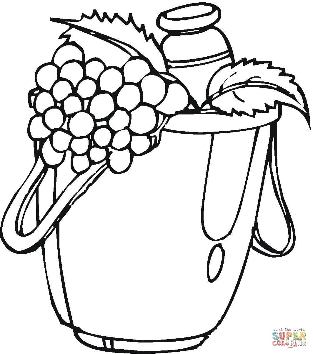 Grocery Store Coloring Pages Coloring Home
