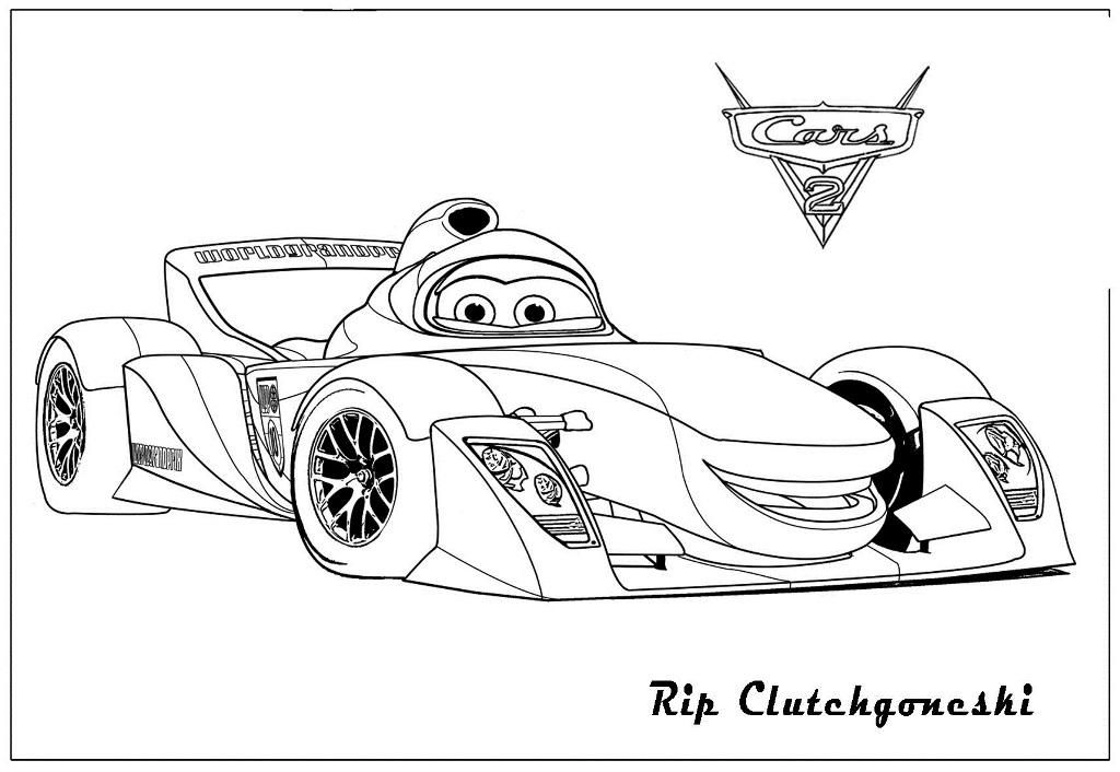 Coloring Pages Disney Cars Lightning Mcqueen To Print Awesome