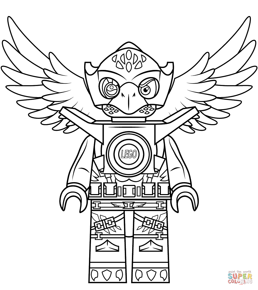 lego chima eagle coloring pages - photo#5