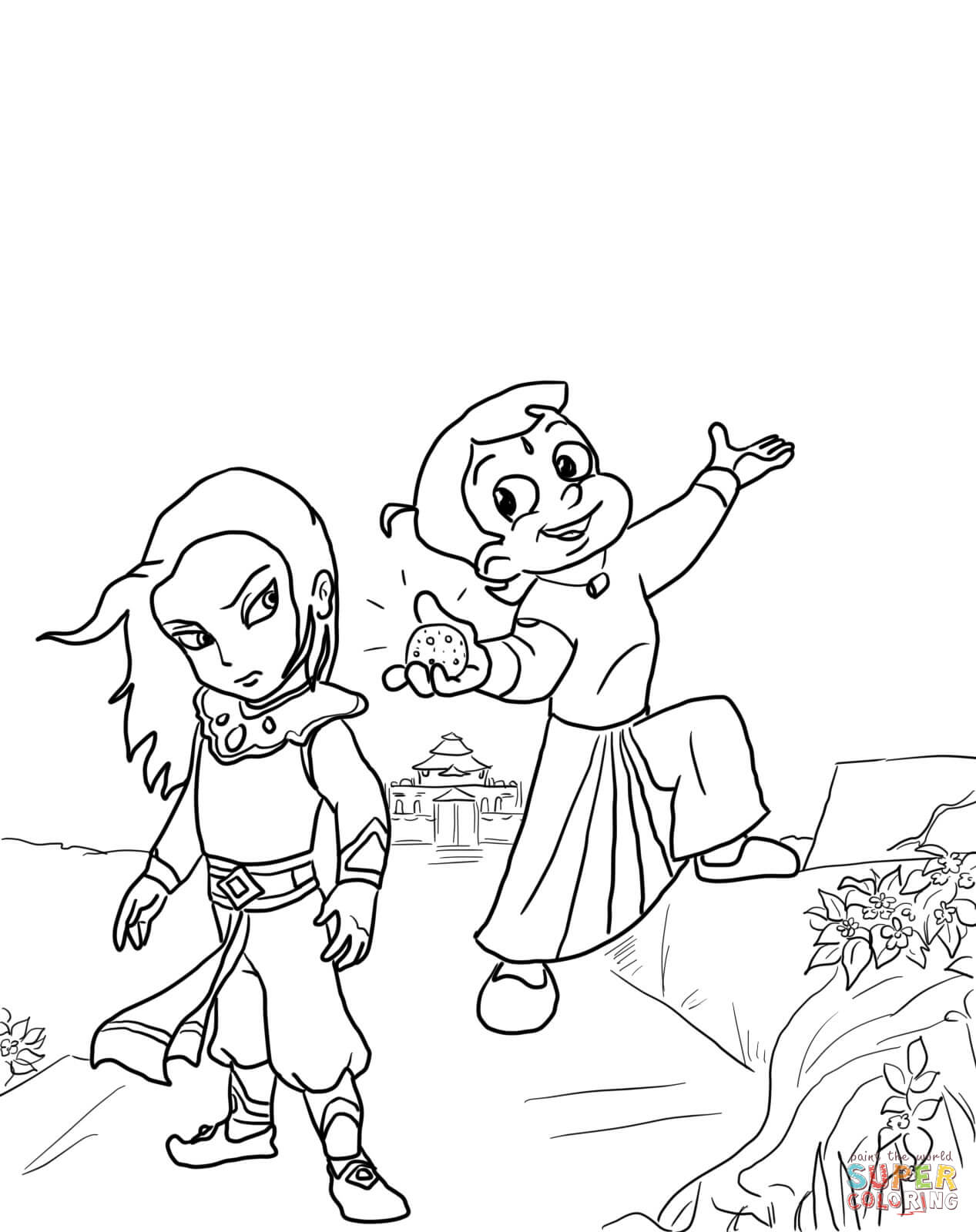 krishna pages for coloring - photo#28