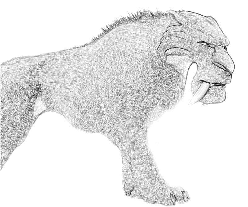 Ice Age Shira Coloring Pages - Coloring Home