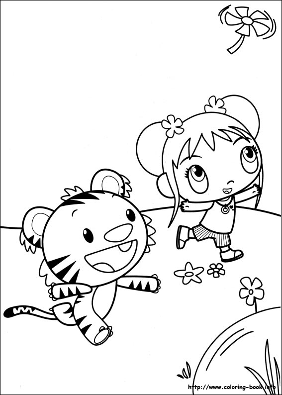 kai lan coloring pages - photo#13