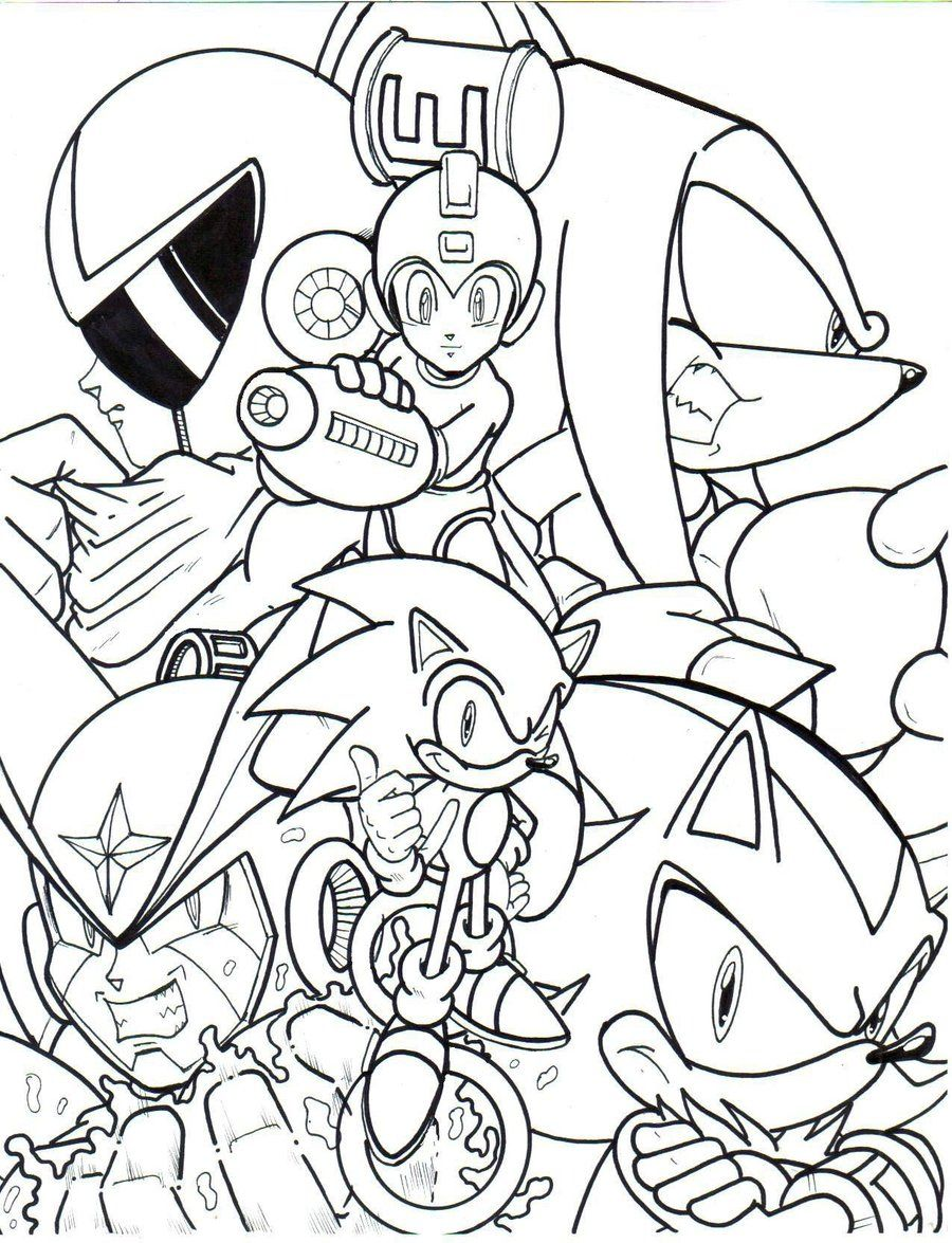 mega man printable coloring pages high quality coloring pages