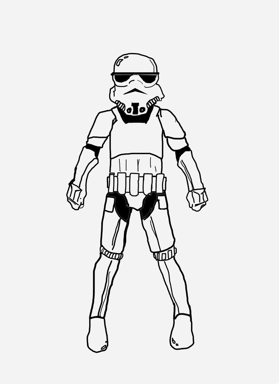 Stormtrooper Coloring Pages - Coloring Home  Star Wars Lego Storm Trooper Coloring Pages