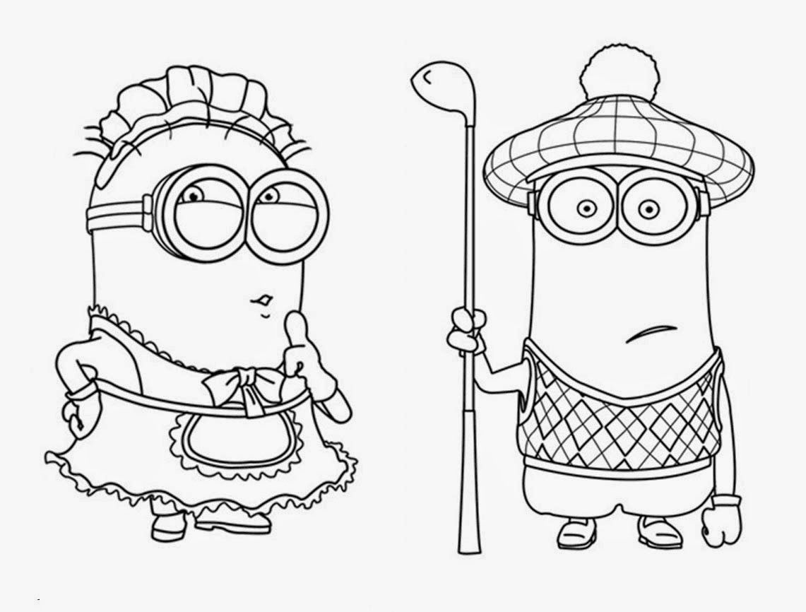 cute despicable me coloring pages - photo#3