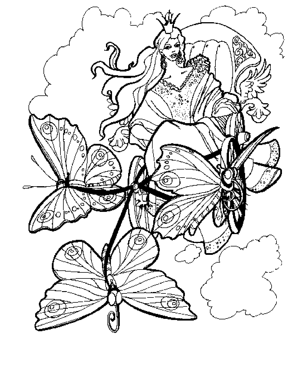 colouring pages for adults to print fairy coloring pages for adults printable kids colouring pages - Free Printable Color Pages For Adults